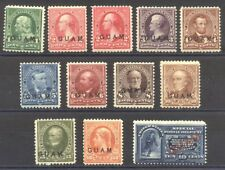 GUAM #1-11, E1 Mint - 1899 Portraits