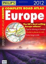 Philip's Complete Road Atlas Europe 2012: Flexi A4 (Road Atlases),Philip's
