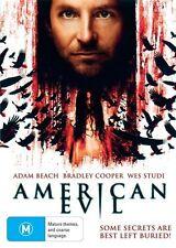 American Evil *Bradley Cooper * (DVD, 2012) BRAND NEW REGION 4