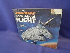 Vintage Star Wars Book About Flight by Caroline Barnes from Random House 1983