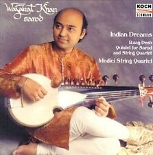 Wajahat Khan & Medici String Quartet 2000 M- CD Indian Dreams Raag Desh Sarod