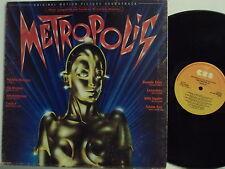 GIORGIO MORODER FREDDY MERCURY ADAM ANT LP 33 MADE in ITALY Metropolis 1984 OST