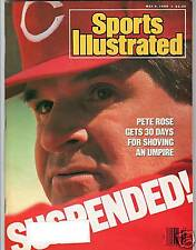 PETE ROSE SPORTS ILLUSTRATED MAG 1988
