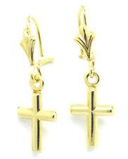 Pendientes de joyería de oro amarillo