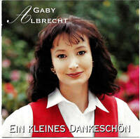 (CD) Gaby Albrecht - Ein Kleines Dankeschön (1994)