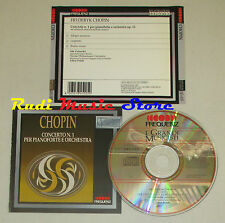 CD CHOPIN Concerto 1 per pianoforte e orchestra 1989 holland FREQUENZ lp mc dvd