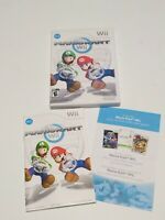 Mario Kart Wii (Nintendo Wii, 2008) Replacement CASE AND MANUAL ONLY NO GAME