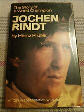 The Story Of A World Champion JOCHEN RINDT by Heinz Pruller 1971