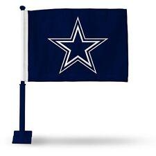 "Dallas Cowboys NFL Car Window Mount Double-Sided Logo Flag Style 2 Blue 11 x 14"""
