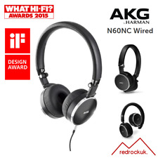 AKG N60NC ** WIRED ** Noise Cancelling, Compact On-Ear Headphones & Carry Case