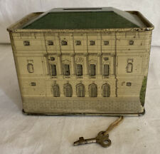 Vintage Chubb & Son's Queen Victoria's Dolls House Moneybox , Tin box 1920's