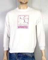 vtg 80s 90s retro Weight Watchers Winners! Sweatshirt indie punk SZ L