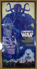 """Marvel Comics 1992 The Avengers Infinity War 6 Issue Series Promo Poster 17x33"""""""