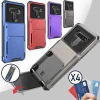 For LG K51 / Reflect Case With Wallet Credit Card Kickstand Holder Slot Cover