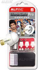 Alpine MusicSafe Pro Ear Plug Musician Hearing Protection Safety Concert Earplug