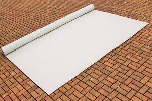 Abdeckplane Lkw Plane PVC Folie 3,20m x 5,60m ca.570g/qm Weiß Neu 3,60€ qm