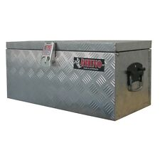 Rhino 610 x 280 x 270mm Aluminium Checkerplate Tool Box