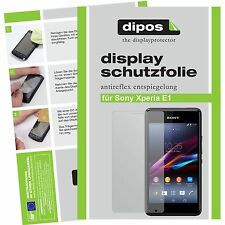 1x dipos Sony Xperia E1 / E1 dual Protector de Pantalla protectores mate