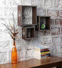 Stylish Decorative Floating Wall Shelf Dark Grey paint