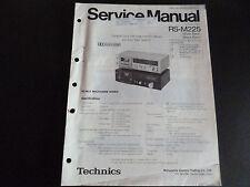 Original Service Manual Technics RS-M225