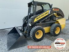2016 New Holland L228 Skid Steer Orops 2 Speed Aux Hyd Handfoot Controls