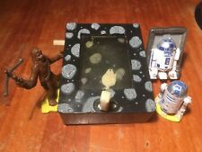 1995 - 1997 Pizza hut promotional star wars R2D2 Chewbacca Millenium Falcon