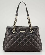 Kate Spade Gold Coast Maryanne Black Quilted Leather Chain Shoulder Bag $478