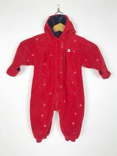 Tommy Hilfiger Red Jumpsuit One Piece Snow Suit Baby Infant Size 6-12 Months