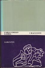 Gadda, Carlo Emilio - I RACCONTI - I ediz., Garzanti 1965
