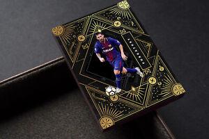 Purgatory Lionel Messi Barcelona FC Gold Unbranded Soccer Card