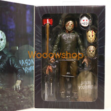"""NECA Friday The 13th Part 5 Jason Voorhees Ultimate 7"""" Action Figure 2017 1:12"""