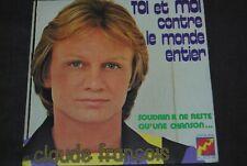 """CLAUDE FRANCOIS """"Toi et moi"""" SINGLE 7"""" VINYL / DISQUES FLECHE - 66061 852"""