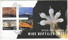 Niue: Reptiles FDC, 5 April 2017