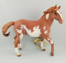 CollectA 88713 Chestnut Overo Pinto Mustang Stallion Horse Display Model