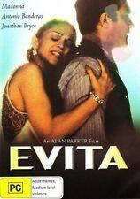 Evita DVD Madonna - RARE OOP - Region 4 Australia