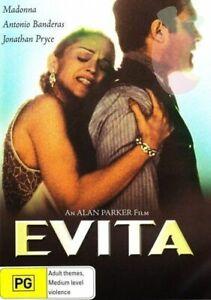 Evita DVD - Antonio Banderas, Madonna Movie - RARE Drama