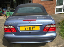 VFR 1Y Honda Very V FRY Old Style Suffix Registration Cherished Number Plate