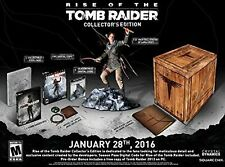 Rise of the Tomb Raider Collectors Edition - PC Digital Code Bundle with statue