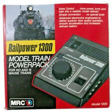 MRC Railpower 1300 Model Train Powerpack HO and N Gauge Untested