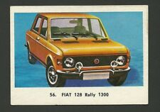 Fiat 128 Rally 1300 Vintage Car Collector 1972 Trading Card from Spain