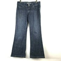 Level 99 Womens Wide Leg Medium Wash Flare Jeans Size 31