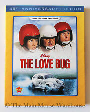 Disney Classic Comedy Herbie The Love Bug Volkswagen Beetle Car Movie on Blu-ray