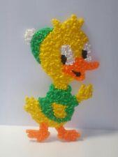 Vintage Melted Plastic Popcorn Easter Duck