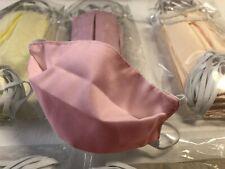 Mundschutz Maske Wiederverwendbar Mundmaske Waschbar bei 60 Grad Farbe Rosa NEU