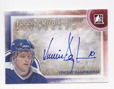 12-13 ITG Vincent Damphousse Auto SP Forever Rivals Maple Leafs 2012