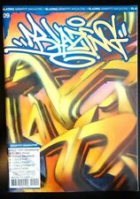 BLAZING 09 French Graffiti Magazine Writing Street Art Silver Subway Spraycan