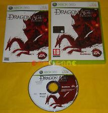 DRAGON AGE ORIGINS XBOX 360 Versione Ufficiale Italiana 1ª Edizione »»» COMPLETO
