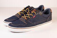 Levi's Carter Denim Comfort Tech Insole Men's Size 13 Navy Shoes 517813-09U