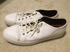 Cole Haan Grand OS White Leather Sneakers Size 12