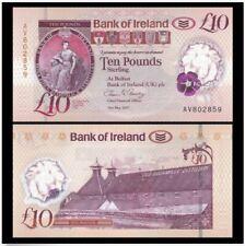 Northern Ireland (Bank of Ireland) 10 Pounds 2017 (UNC) AT570394